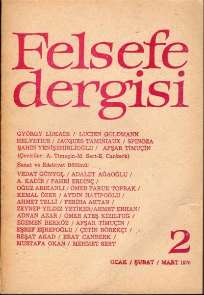 FELSEFE DERGİSİ