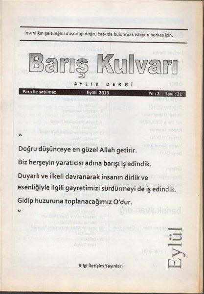 BARIŞ KULVARI