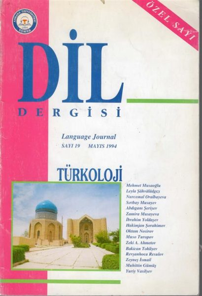 DİL DERGİSİ