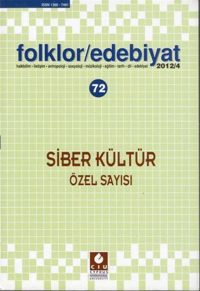 FOLKLOR EDEBİYAT