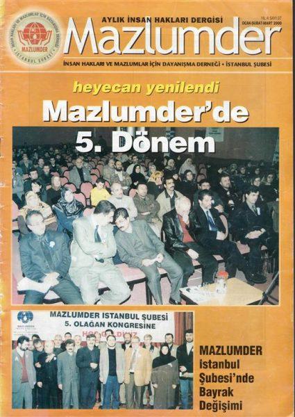 MAZLUMDER İSTANBUL ŞUBESİ