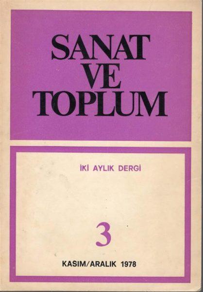 SANAT VE TOPLUM