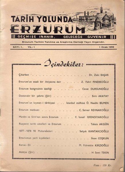 TARİH YOLUNDA ERZURUM