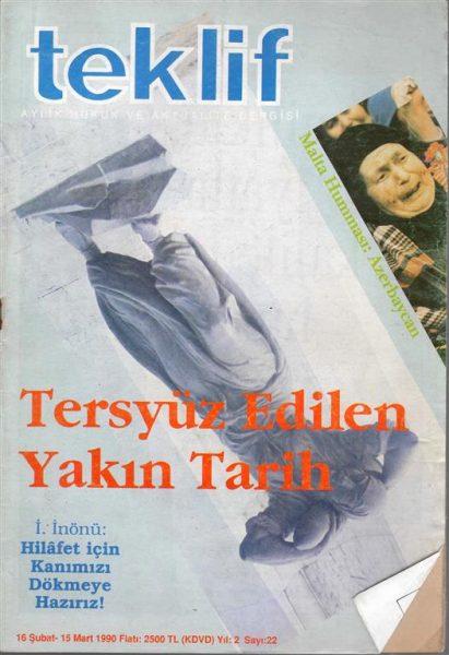 TEKLİF
