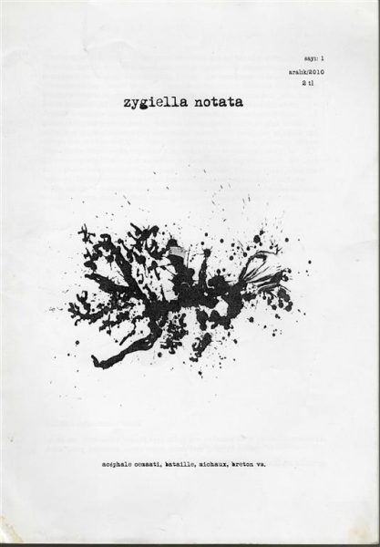 ZYGIELLA NOTATA