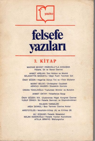 FELSEFE YAZILARI