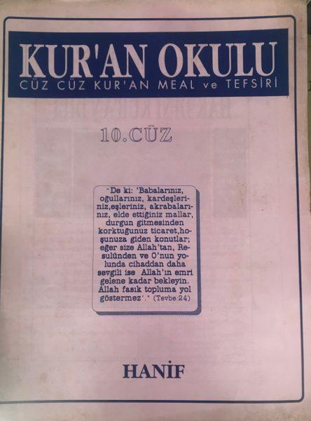 KURAN OKULU