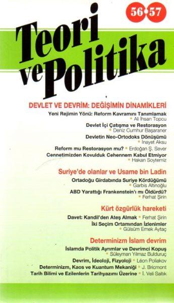 TEORİ VE POLİTİKA